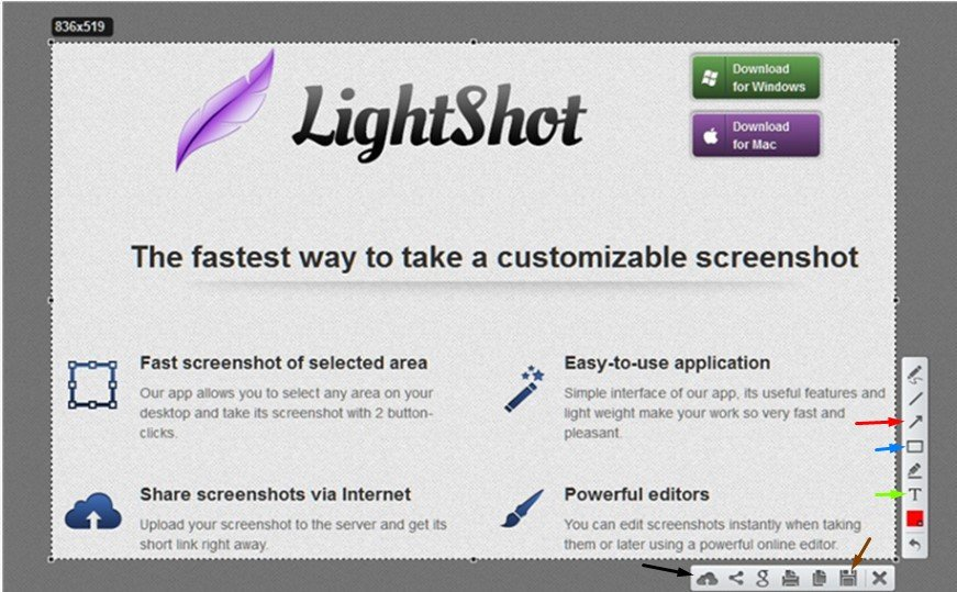Como tirar print screen/screenshots. Facilite com o Lightsho