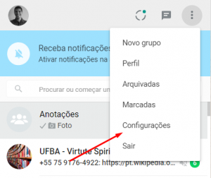 whatsapp invisível