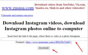 site para baixar fotos e vídeos via site