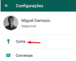 Conta Bloquear Whatsapp