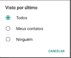 como tirar o online do whatsapp 2019