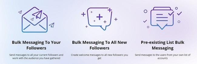 como mandar mensagem pelo instagram pelo pc