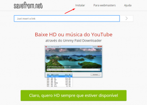 fazer download de videos do youtube