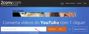baixar musica pelo youtube