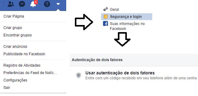 Como ativar verificação em duas etapas no Facebook