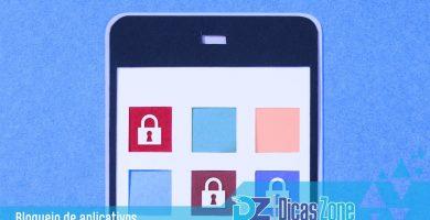 senhas para aplicativos do celular