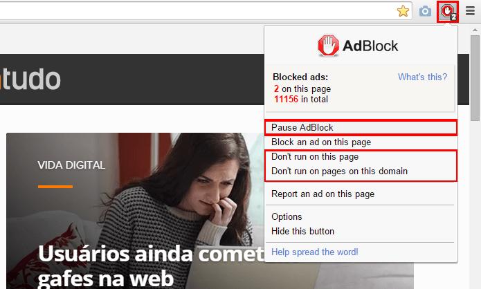 Como ativar ou desativar o bloqueador de anúncios nativo do Chrome