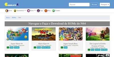 Site Gamulator N64