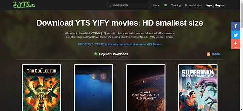 YT-Torrents-Site