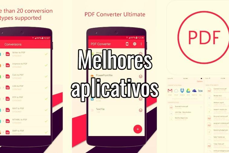 apps para transformar fotos em PDF