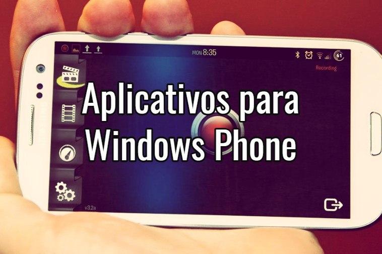 aplicativo para filmar a tela do celular
