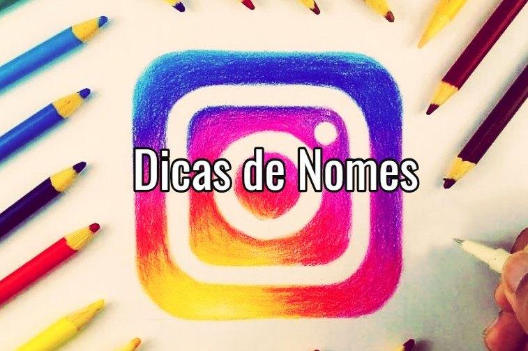 Nomes Legais para Instagram Femininos e Masculinos
