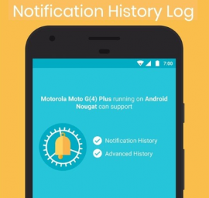 Baixar Notification History Log