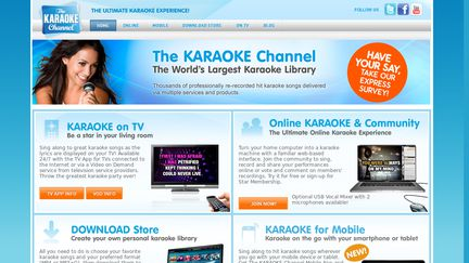 site the karaoke channel