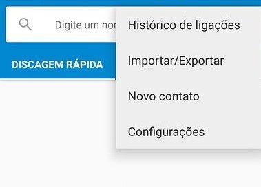 Ligação confidencial Android