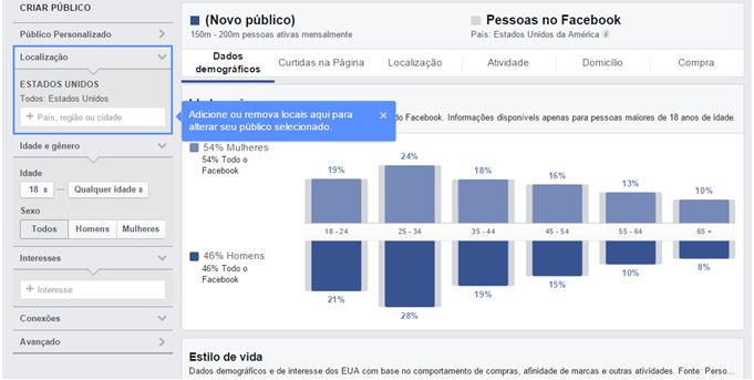 facebook gráfico