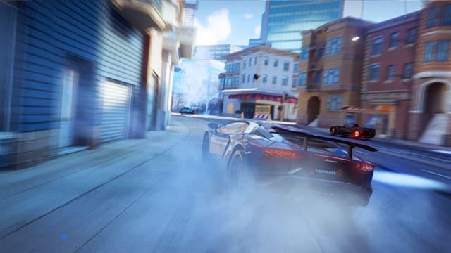corrida névoa