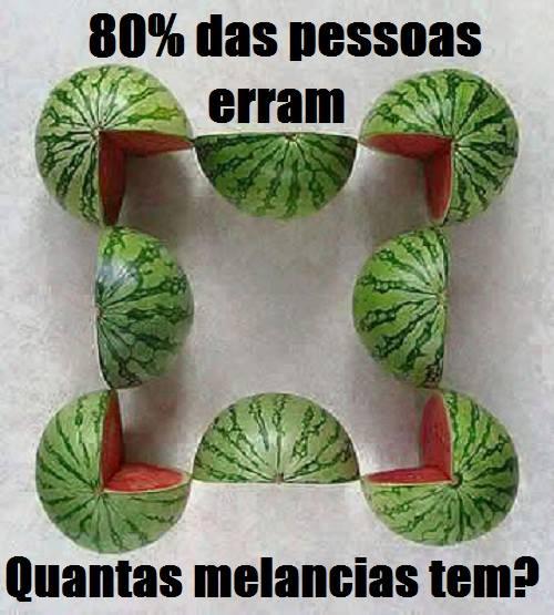 quantas melancias