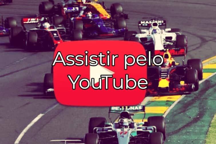 f1 live youtube