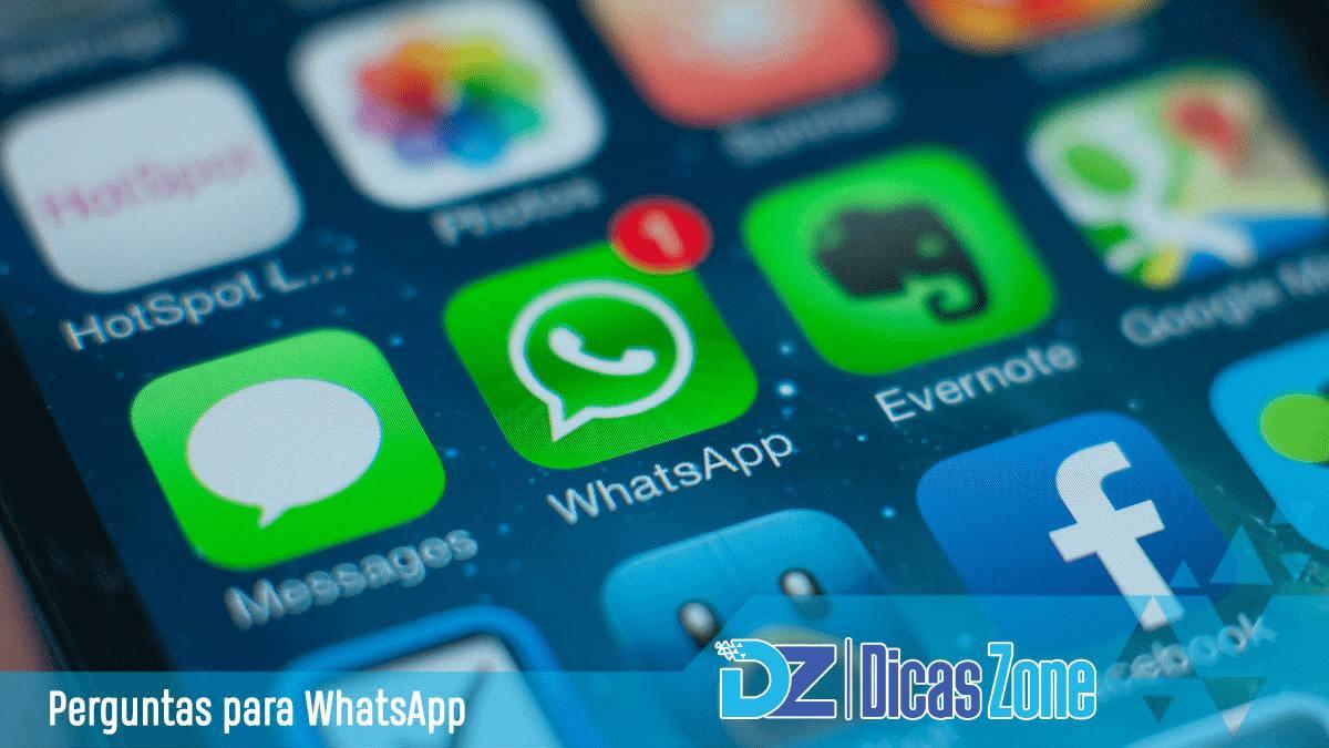 Melhores Perguntas Para Whatsapp Em 2021 Para Amigos E Crush