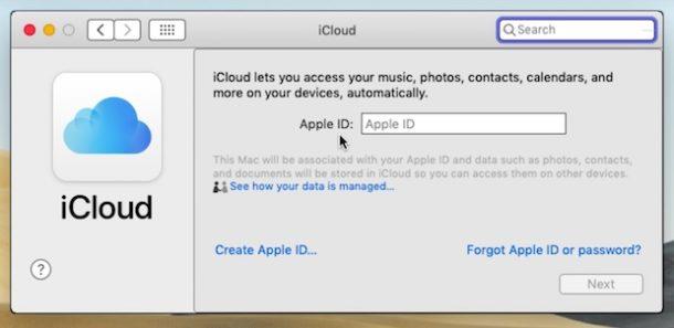 remover id apple mac