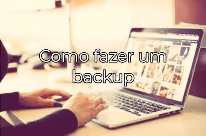 Como fazer backup do Mac