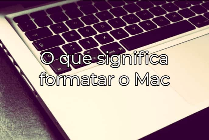 FORMATANDO O MACBOOK