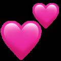 corações voando wpp