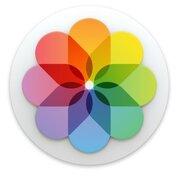 Programa para Mac de edição de imagem Apple Photos