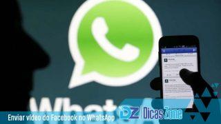 como compartilhar vídeos do facebook para o whatsapp