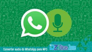 Áudio do WhatsApp: como abrir e converter .opus para .mp3
