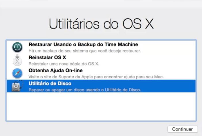 utilitários do OS X