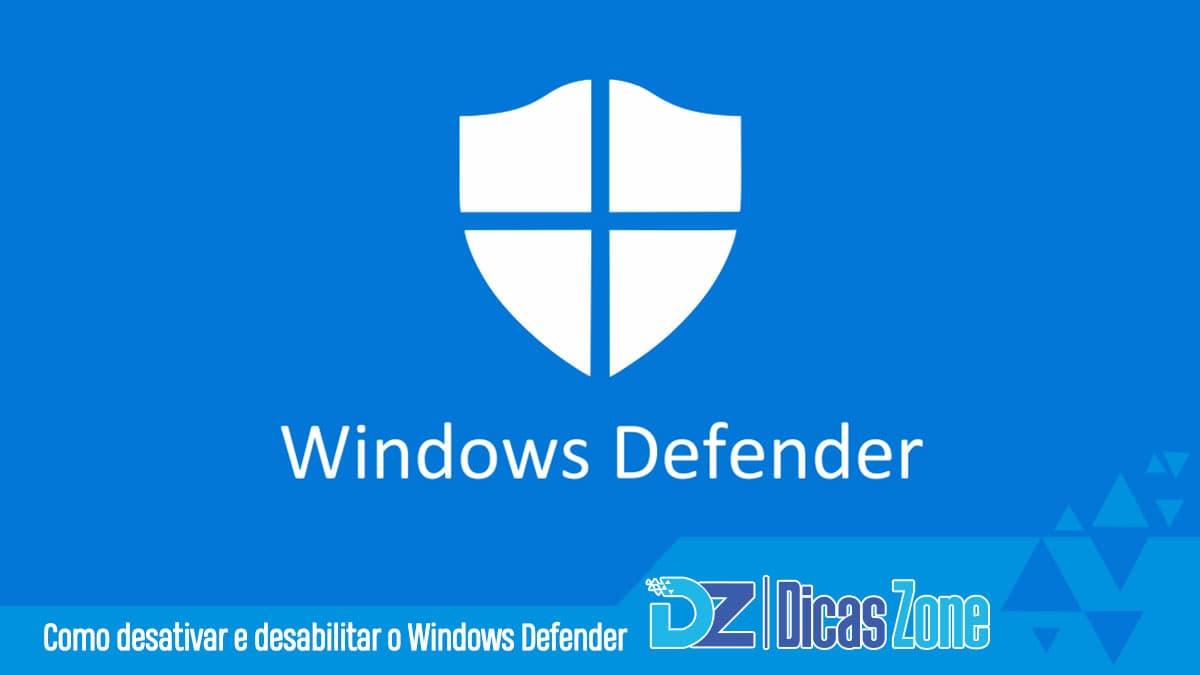 como desinstalar o windows defender