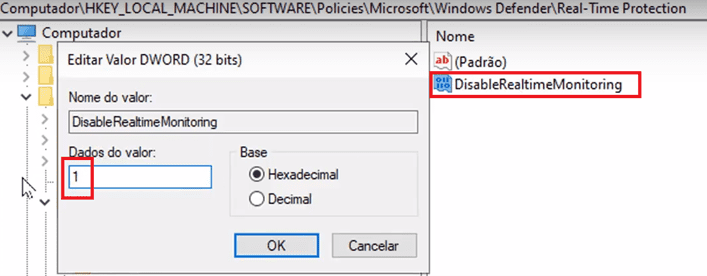 desabilitar o Windows Defender totalmente