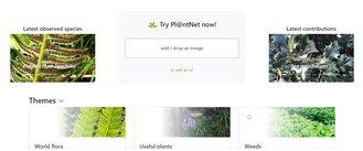 Ferramenta Plantnet Online
