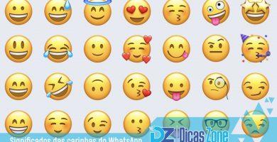 Você conhece o significado dos emoticons do Whatsapp