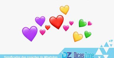 significado dos corações