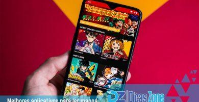 melhor app para ler manga em portugues