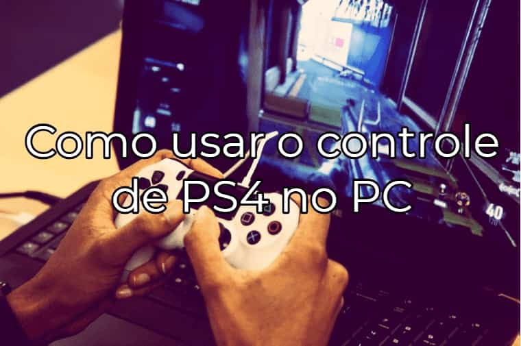 controle ps4 pc bluetooth