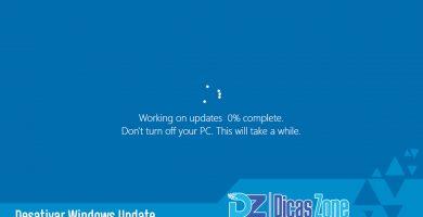 desativar atualizações windows 10
