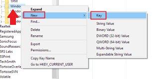 abrir chave regedit windows update