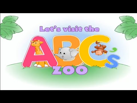 abc zoo learning game