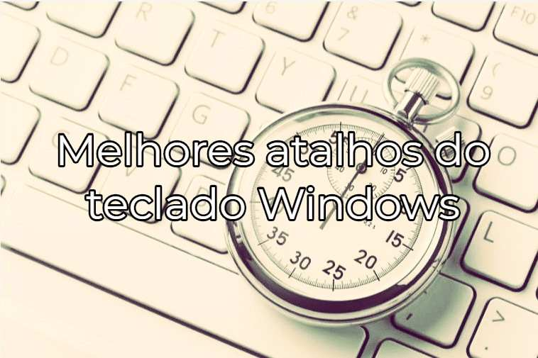 atalhos de teclado do pc windows