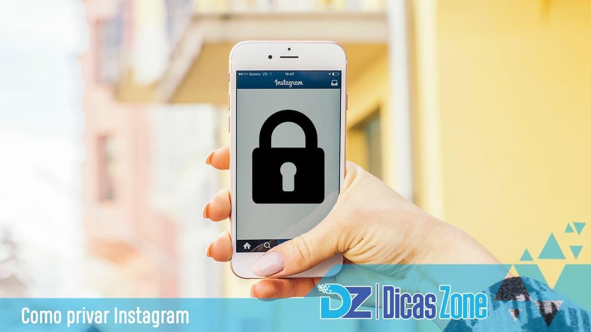Como Deixar Instagram Privado (Solicitarem sua Amizade)