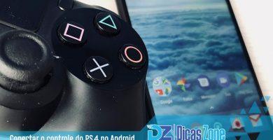 Como Sincronizar um Controle do PS4 no Android