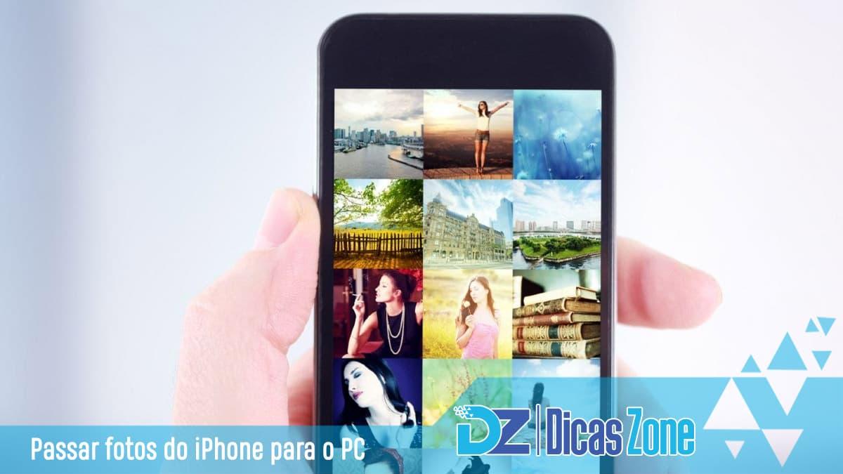 Como Passar Fotos do iPhone para PC - Guia Completo