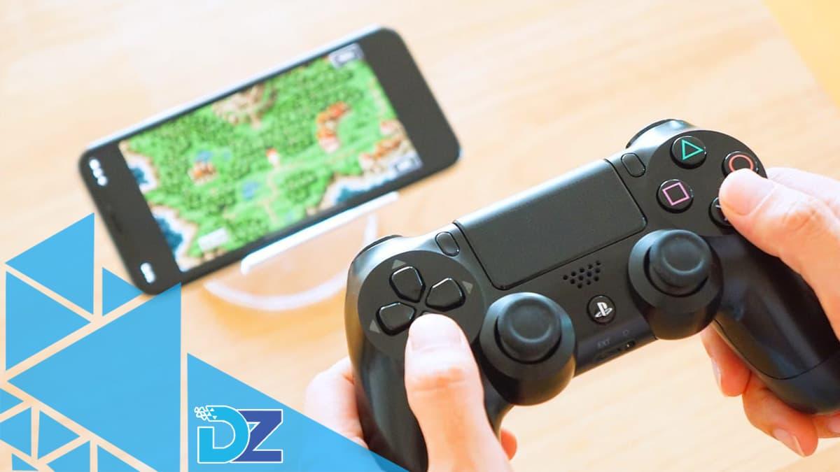 Como conectar um controle do PS4 no iPhone