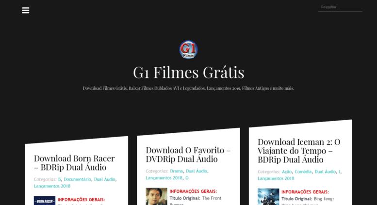 g1 filmes site