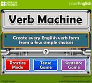 Site verb machine