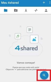 lupa 4Shared para pesquisar musica